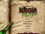 The Mysterious Case of Dr. Jekyll and Mr. Hyde Windows Main menu