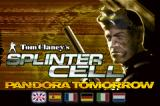 Tom Clancy's Splinter Cell: Pandora Tomorrow Game Boy Advance Title screen and language selection