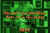 Urban Yeti! Game Boy Advance Can't get pass