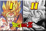Dragon Ball Z: The Legacy of Goku I & II Game Boy Advance Game Selection Screen