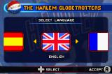 Harlem Globetrotters: World Tour Game Boy Advance Language selection