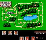 Friday the 13th NES Viewing map and choosing characters