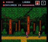 Friday the 13th NES In a forest