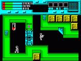 Rescue ZX Spectrum This scientist is awake and running round. Open the door, pick up his experiment, then guide him to the spaceship