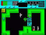 Rescue ZX Spectrum Got here just in time, green alien breaking down the door to a scientist's room...