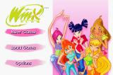 Winx Club Game Boy Advance Main menu
