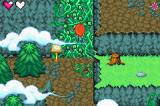 Winx Club Game Boy Advance Climbing up some vines