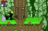 BIONICLE: Matoran Adventures Game Boy Advance Only the larger Bionicle can activate the switch.