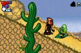 Bionicle: Matoran Adventures Game Boy Advance Fleeing from a rolling boulder
