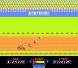 Excitebike NES Starting