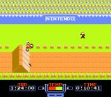 Excitebike NES A simple obstacle