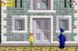 Disney's Peter Pan: Return to Never Land Game Boy Advance The policeman will go after Pan if he sees him.
