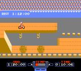 Excitebike NES Fancy obstacles