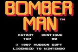 Bomberman Game Boy Advance Title Screen