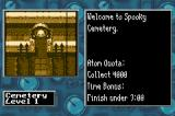 Monster Force Game Boy Advance Level 1, Cemetery