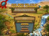 Golden Trails: The New Western Rush Windows Main menu