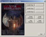 Wing Commander: The Kilrathi Saga Windows Installer menu