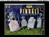 3-D Ultra Pinball: Creep Night Macintosh Game load and main menu