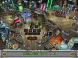 3-D Ultra Pinball: Creep Night Macintosh Trapped pinball right flipper for shot at Goblin