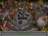 3-D Ultra Pinball: Creep Night Macintosh Dungeon level starting