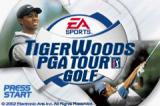 Tiger Woods PGA Tour Golf Game Boy Advance Title screen
