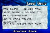 Shaun Palmer's Pro Snowboarder Game Boy Advance Level goals