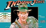 Indiana Jones and the Temple of Doom Amiga Title screen