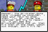 LEGO Island 2: The Brickster's Revenge Game Boy Advance Rules for a mini game