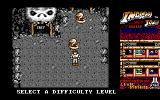 Indiana Jones and the Temple of Doom Amiga Choose a difficulty level