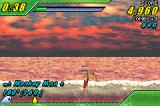 Kelly Slater's Pro Surfer Game Boy Advance On the top of the wave, trying to take off