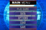 ESPN Final Round Golf 2002 Game Boy Advance Main menu