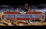 Death Knights of Krynn PC-98 Title screen