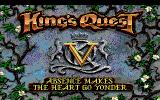 King's Quest V: Absence Makes the Heart Go Yonder! PC-98 Title screen