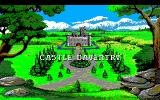 King's Quest V: Absence Makes the Heart Go Yonder! PC-98 Intro. Castle Daventry is about to disappear