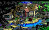 King's Quest V: Absence Makes the Heart Go Yonder! PC-98 Starting location. You impatiently grab the roof