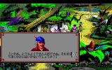 King's Quest V: Absence Makes the Heart Go Yonder! PC-98 Dialogues have those portraits and block the whole screen...