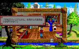 King's Quest V: Absence Makes the Heart Go Yonder! PC-98 All house interiors are displayed in small windows. Very annoying, uncomfortable, and just plain bad-looking