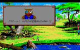 "King's Quest V: Absence Makes the Heart Go Yonder! PC-98 The wise owl will offer professional consulting from time to time. It mostly consists of: ""Be careful, Graham!!.. There is deep water there!!.."", as if you were blind or didn't play the other KQs"