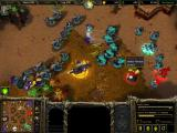 Warcraft III: The Frozen Throne Windows Multiplayer battles can get quite busy.