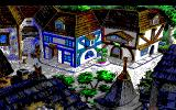 King's Quest V: Absence Makes the Heart Go Yonder! PC-98 They really tried, but the inferior graphics of PC-98 made this town look less beautiful than it was supposed to