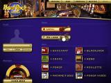Hard Rock Casino Windows The Menu screen