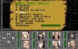 Heroes of the Lance PC-98 Spell menu