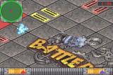 BattleBots: Beyond the Battlebox Game Boy Advance This opponents tries to shove you into traps in the arena.