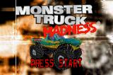 Monster Truck Madness Game Boy Advance Title screen