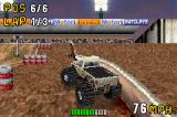Monster Truck Madness Game Boy Advance Having difficulties to stay on the path