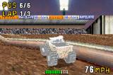 Monster Truck Madness Game Boy Advance Picked up a power-up