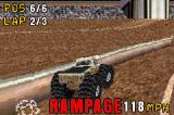 Monster Truck Madness Game Boy Advance The game displays rampage when you hit a huge number of obstacles in a short time.