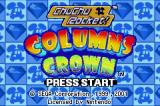 2 Games in 1: Columns Crown + ChuChu Rocket! Game Boy Advance Game selection screen