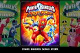 2 Games in 1: Power Rangers: Time Force / Power Rangers: Ninja Storm Game Boy Advance Game selection screen
