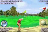 Tiger Woods PGA Tour 2004 Game Boy Advance Getting closer; if only the ball wasn't in the sand.
